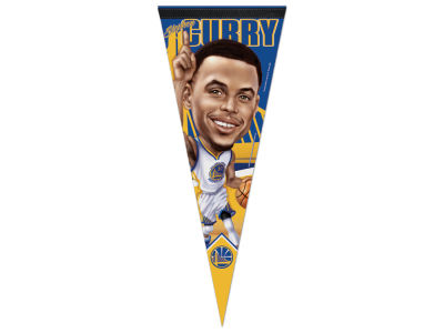 Golden State Warriors Stephen Curry 12x30 Premium Player Pennant