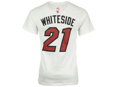 Miami Heat Hassan Whiteside  adidas NBA Men's Player T-Shirt
