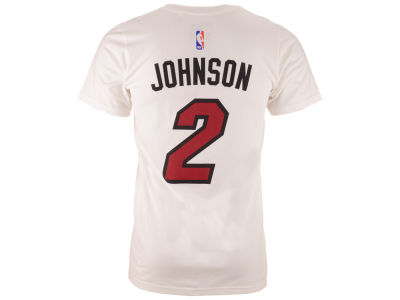 Miami Heat Joe Johnson  adidas NBA Men's Player T-Shirt