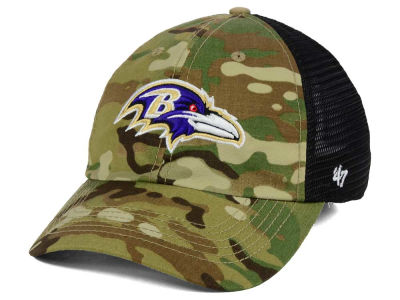 Baltimore Ravens '47 NFL Compass Relaxed '47 CLOSER Cap