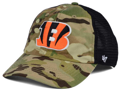 Cincinnati Bengals '47 NFL Compass Relaxed '47 CLOSER Cap