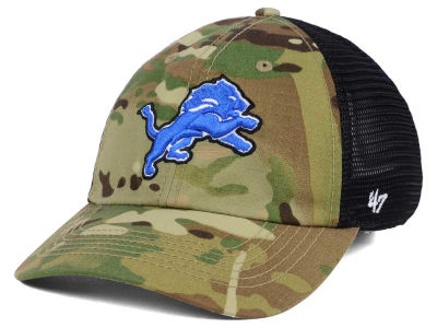 Detroit Lions '47 NFL Compass Relaxed '47 CLOSER Cap