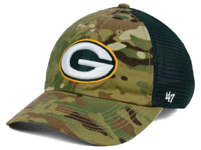 Green Bay Packers '47 NFL Compass Relaxed '47 CLOSER Cap