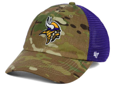 Minnesota Vikings '47 NFL Compass Relaxed '47 CLOSER Cap