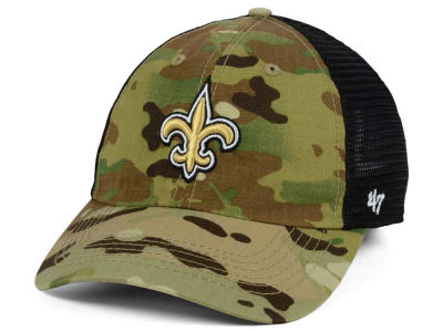 New Orleans Saints '47 NFL Compass Relaxed '47 CLOSER Cap