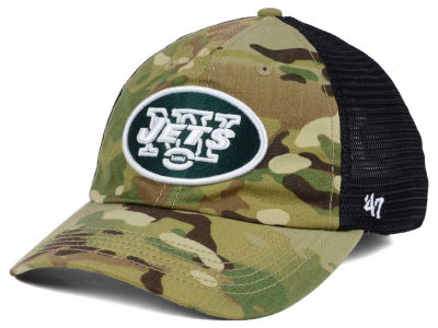 New York Jets '47 NFL Compass Relaxed '47 CLOSER Cap