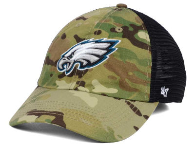 Philadelphia Eagles '47 NFL Compass Relaxed '47 CLOSER Cap