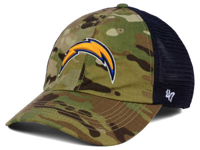 Los Angeles Chargers '47 NFL Compass Relaxed '47 CLOSER Cap