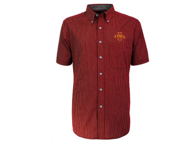 Iowa State Cyclones NCAA Mens League Short Sleeve Button Down