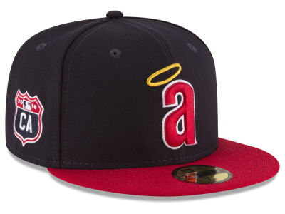 Los Angeles Angels New Era MLB Rep Your Team 59FIFTY Cap