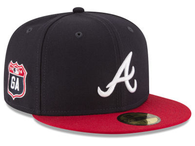 Atlanta Braves New Era MLB Rep Your Team 59FIFTY Cap
