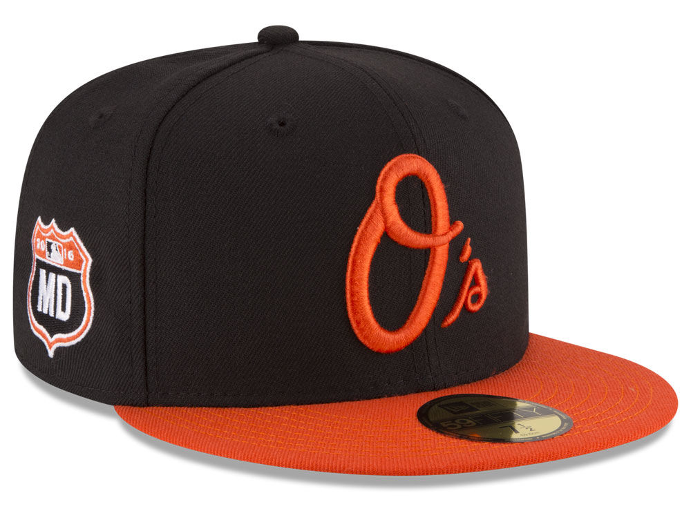 the latest ed549 cfac0 usa baltimore orioles new era mlb rep your team 59fifty cap 83222 375d8