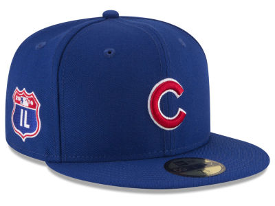 Chicago Cubs New Era MLB Rep Your Team 59FIFTY Cap