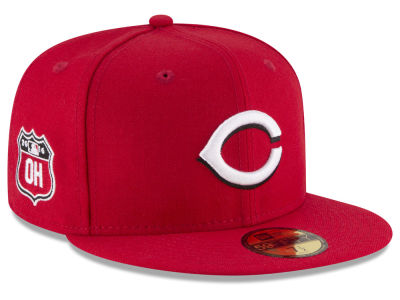 Cincinnati Reds New Era MLB Rep Your Team 59FIFTY Cap