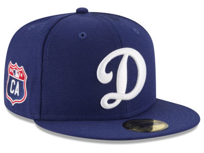 Los Angeles Dodgers New Era MLB Rep Your Team 59FIFTY Cap