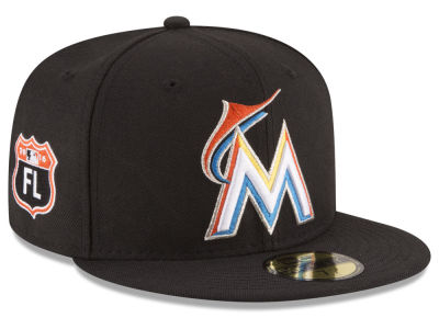 Miami Marlins New Era MLB Rep Your Team 59FIFTY Cap