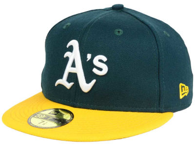 Oakland Athletics New Era MLB Rep Your Team 59FIFTY Cap
