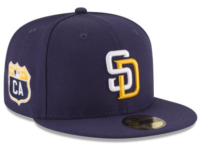 San Diego Padres New Era MLB Rep Your Team 59FIFTY Cap