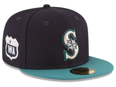Seattle Mariners New Era MLB Rep Your Team 59FIFTY Cap
