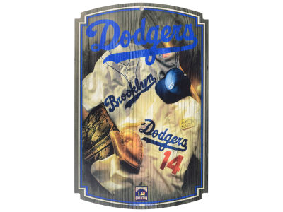 Los Angeles Dodgers 11x17 Wood Sign