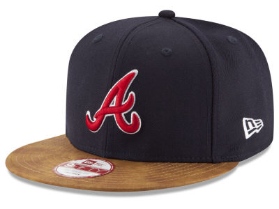 Atlanta Braves New Era MLB Team Butter 9FIFTY Snapback Cap