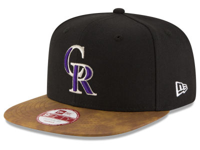 Colorado Rockies New Era MLB Team Butter 9FIFTY Snapback Cap