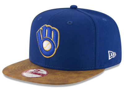 Milwaukee Brewers New Era MLB Team Butter 9FIFTY Snapback Cap