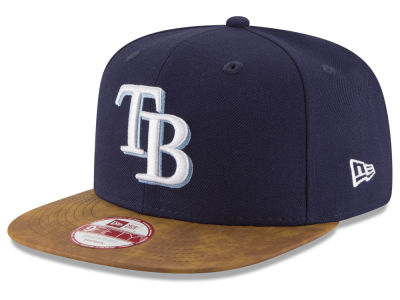 Tampa Bay Rays New Era MLB Team Butter 9FIFTY Snapback Cap