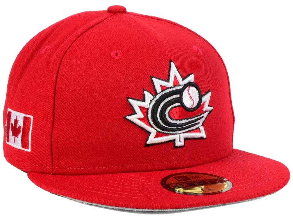Canada New Era 2017 World Baseball Classic 59FIFTY Cap  5ad5d757ba2