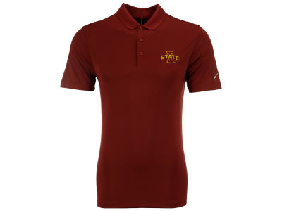 Iowa State Cyclones Nike Golf NCAA Men's Victory Solid Polo Shirt