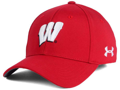 Wisconsin Badgers Under Armour NCAA Sideline Renegade Solid Cap