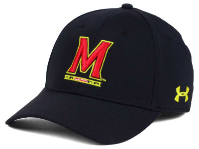 Maryland Terrapins Under Armour NCAA Sideline Renegade Solid Cap