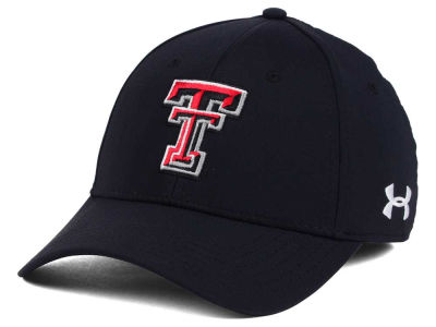 Texas Tech Red Raiders Under Armour NCAA Sideline Renegade Solid Cap
