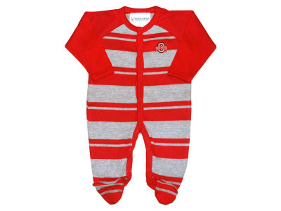 Ohio State Buckeyes NCAA Infant Rugby Footed Creeper