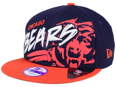 Chicago Bears NFL Kids Graffiti 9FIFTY Snapback Cap