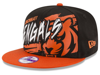 Cincinnati Bengals NFL Kids Graffiti 9FIFTY Snapback Cap