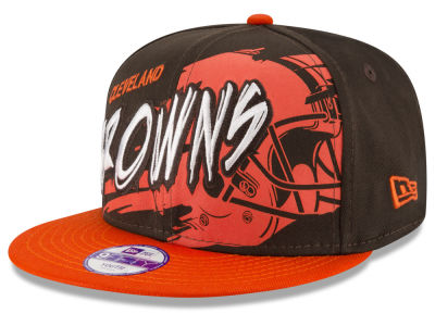 Cleveland Browns NFL Kids Graffiti 9FIFTY Snapback Cap