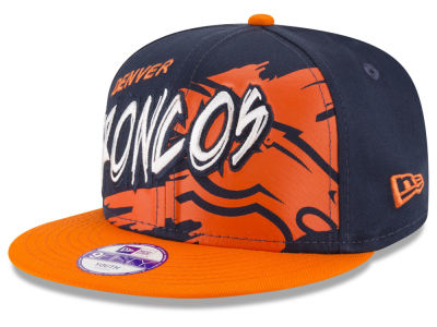 Denver Broncos NFL Kids Graffiti 9FIFTY Snapback Cap