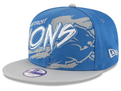 Detroit Lions NFL Kids Graffiti 9FIFTY Snapback Cap