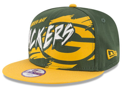 Green Bay Packers NFL Kids Graffiti 9FIFTY Snapback Cap