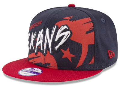 Houston Texans NFL Kids Graffiti 9FIFTY Snapback Cap