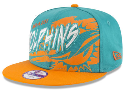 Miami Dolphins NFL Kids Graffiti 9FIFTY Snapback Cap