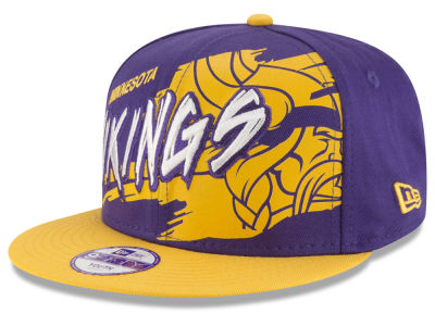 Minnesota Vikings NFL Kids Graffiti 9FIFTY Snapback Cap