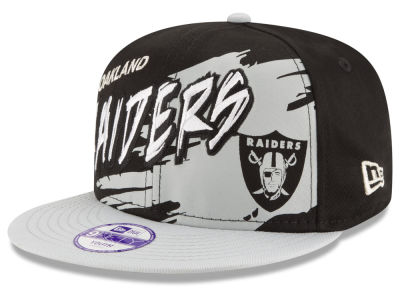 Oakland Raiders NFL Kids Graffiti 9FIFTY Snapback Cap