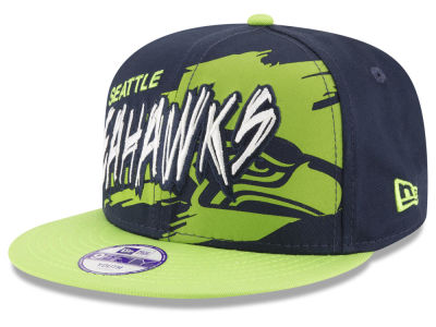 Seattle Seahawks NFL Kids Graffiti 9FIFTY Snapback Cap