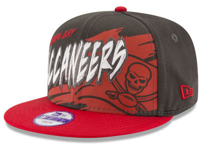 Tampa Bay Buccaneers NFL Kids Graffiti 9FIFTY Snapback Cap