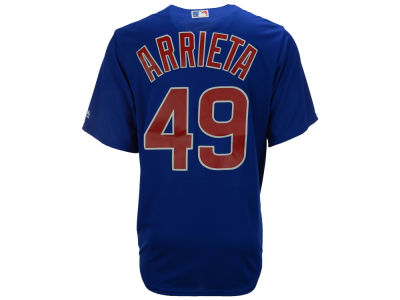 Chicago Cubs Jake Arrieta Majestic MLB Men's Player Replica Cool Base Jersey