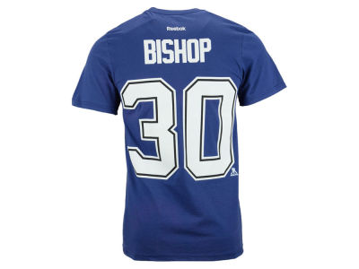 Tampa Bay Lightning Ben Bishop Reebok NHL Kids Player T-Shirt