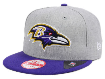 Baltimore Ravens New Era NFL Heather 2 Tone 9FIFTY Snapback