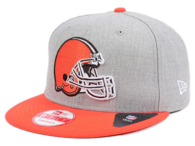 Cleveland Browns New Era NFL Heather 2 Tone 9FIFTY Snapback